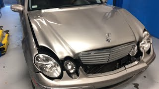 Mercedes Benz E320 after Accident Repair, Auto Body Repair Shop