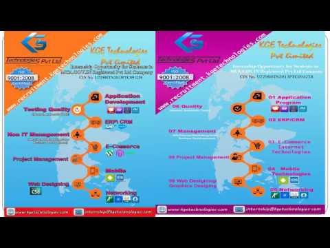 DATABASE INTERNSHIP in KGE Technologies Pvt Ltd