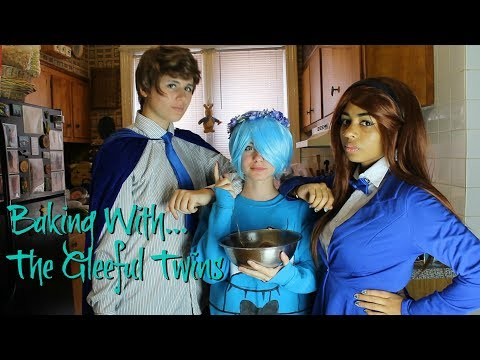 Baking Cookies with the Gleeful Twins! (Featuring Will Cipher)