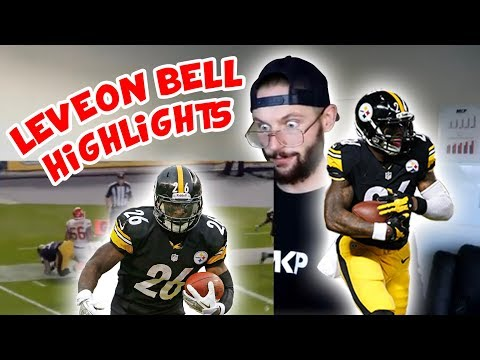 Rugby Player Reacts to LEVEON BELL NFL Highlights!