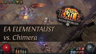 Path Of Exile 2.4: Grand Spectrum EA Elementalist - Chimera