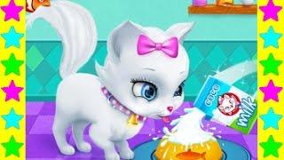 Играем с белой кошечкой Китти Мультфильмы про кошек для детей. Развивающие детские мультики.