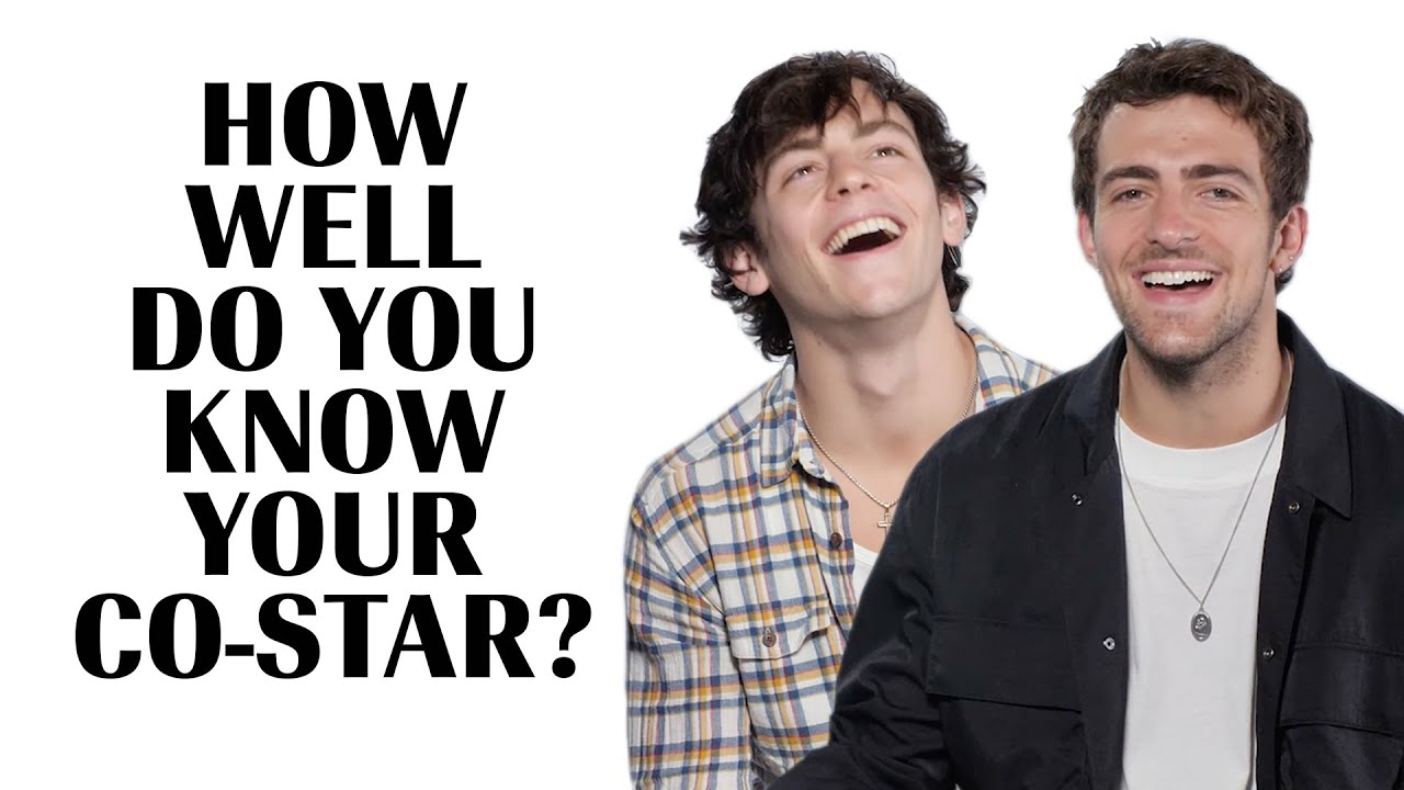 Ross And Rocky Lynch Play 'How Well Do You Know Your Co-Star?: Brother Edition'