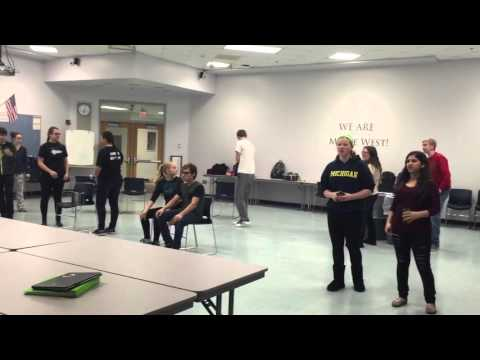 Annie the Musical Dance Rehearsal - Hooverville