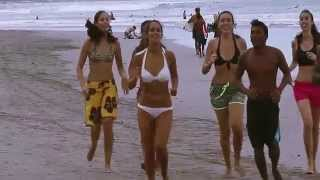 Fun at One of the Best Beaches in Bali: Double Six, Seminyak, Bali. ( HD)