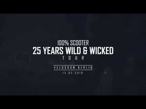Scooter Tour Start in Berlin 2018 (25 Years Wild & Wicked)