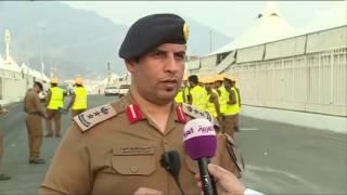 الدفاع المدني يفحص أكثر من 150 ألف خيمة ومنشأة للحجاج