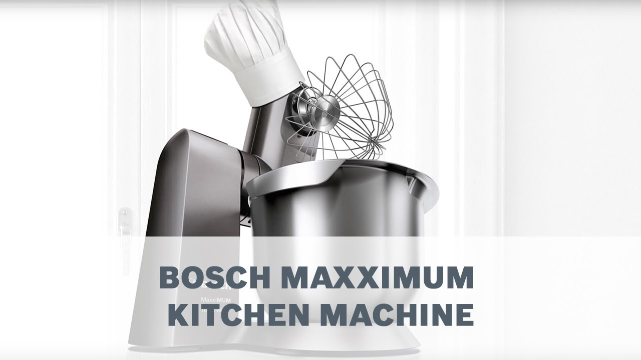 Bosch Maxximum Meat Mincer Youtube