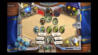 Alleria Windrunner Hunter Hero Gameplay in Hearthstone