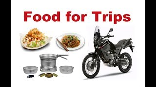Food for Motorcycle Trips. What You Have to Know?