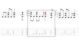 半音下げチューニング パート割りはラストミサを参考 ただしエースはラ...
