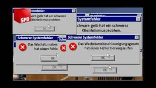 100 Tage Schwarz-Gelb: Schwerer Fehler im Betriebssystem