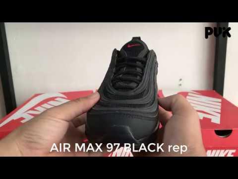 PUK.vn] Air max 97 BLACK - rep - YouTube