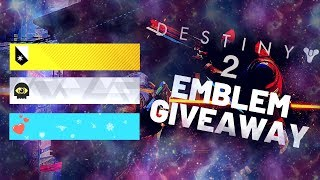 Destiny 2 Emblem Giveaway CLOSED Peace Of City Black Skies Planet Of Peace