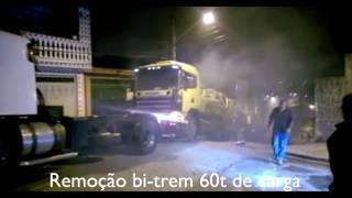Gitabruta guinchos - Remoção bi-trem 60t de carga