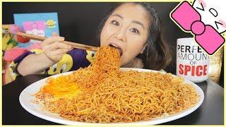 CRAZY SPICY MALAYSIAN NOODLES | MUKBANG