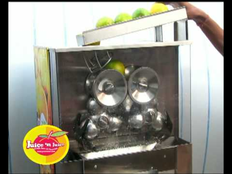 Fully Automatic Citrus juice machine, what matters is performance