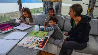Full Time Airstream RV Family of 5 - Working On The Road ~ RV Homeschooling ~  #1