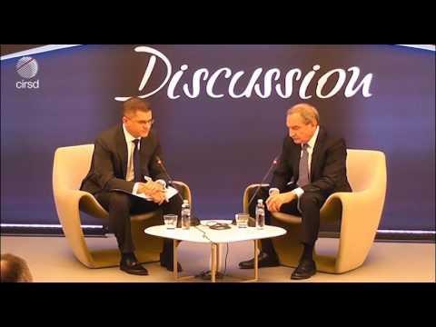 George Friedman and Vuk Jeremić on Geopolitics | Horizons Discussion