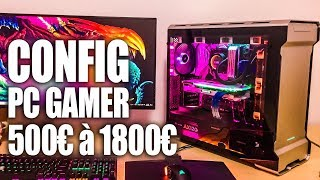 PC GAMER de 500€ à 1800€ - CONFIG GAMING ÉTÉ 2019
