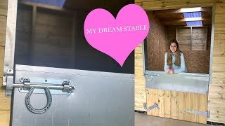 Building my DREAM MINI STABLES!