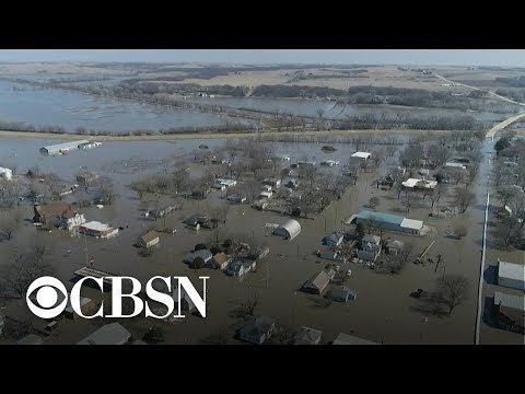 Farmers devastated by Midwest flooding