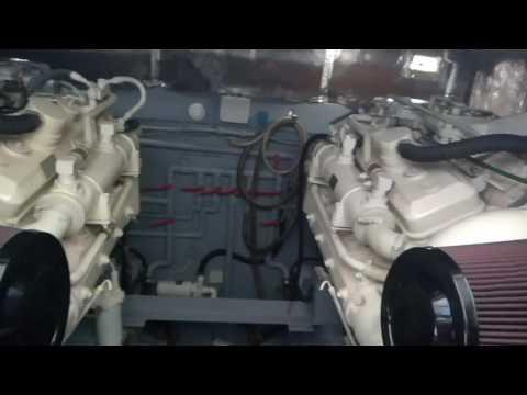 Detroit Diesel Marine 6V92TA 550 Hp.