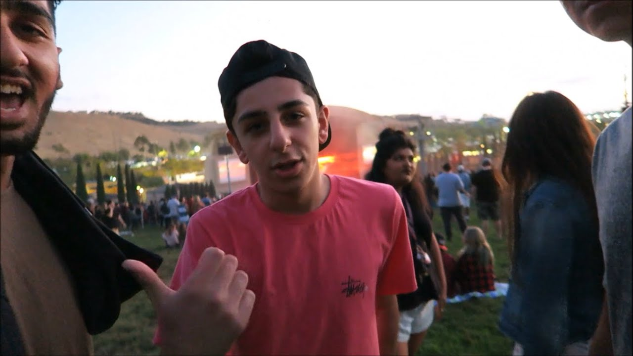 MEETING FAZE RUG AT THE LOGIC AND G EAZY CONCERT FIGHT ENDLESS SUMMER TOUR