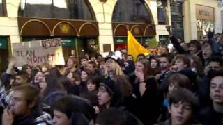 Blocus 12.12.08 Rue de la loge Mtp