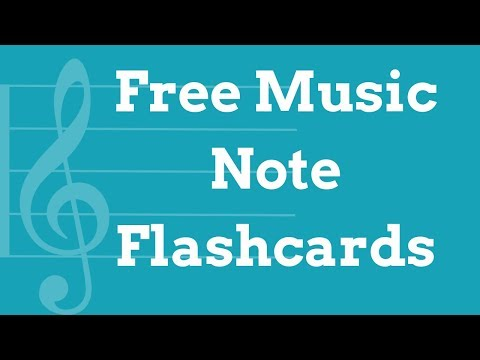 Free Music Note Flashcards - Learn How To Read Music