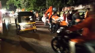 Shivjayanti bike rally 😎 jay shivaji jay bhawani 👆