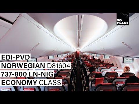 NORWEGIAN AIR   Edinburgh - Providence (Boston)   737-800   Full Flight   Trip Report