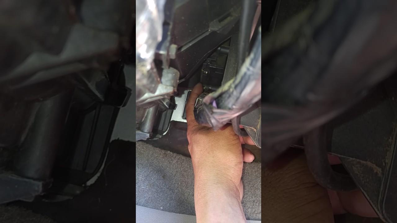 1992 chevy truck blend door actuator - YouTube