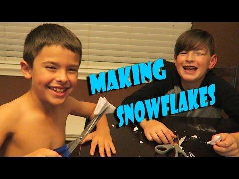 MAKING SNOWFLAKE AFTER BASEBALL | ERIKTV365 (Day #2349)