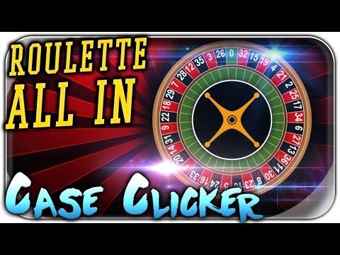 ALL IN CASINO ROULETTE | CSGO Case Clicker Let's Play | Simulator Deutsch German