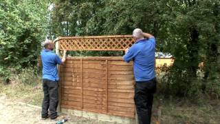 How To Install A Fence