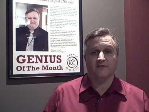Why is Randy Hall (WorldLan Technologies) attending Robin Robin's 2010 Big Seminar?