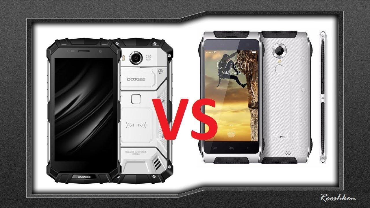 Porównanie dwóch moich ulubionych smartfonów Doogee S60 Vs HomTom HT20
