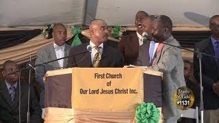 Truth of God Broadcast 1130-1131 Pastor Gino Jennings & Pastor Michael Evans Debate HD!