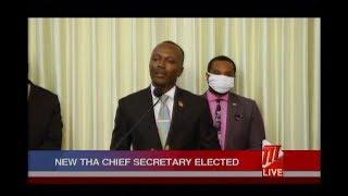 Ancil Dennis Appointed THA Chief Secretary
