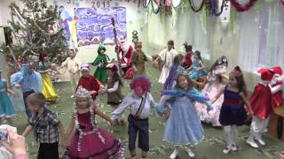 """В лесу родилась елочка""танец"