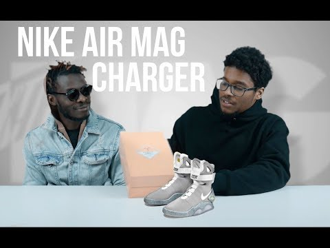 NIKE AIR MAG CHARGER UNBOXING!