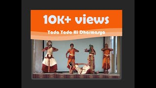 Yada Yada Hi Dharmasya by Soorya Dance Class, Los Angeles at Hare Krishna Temple, Utah