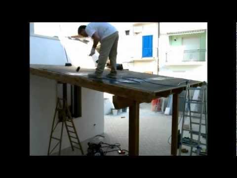Tettoia in costruzione youtube for Prestito di costruzione per costruire una casa