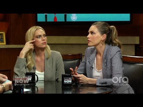 The Foster sisters on dad David's many marriages | Larry King Now | Ora.TV