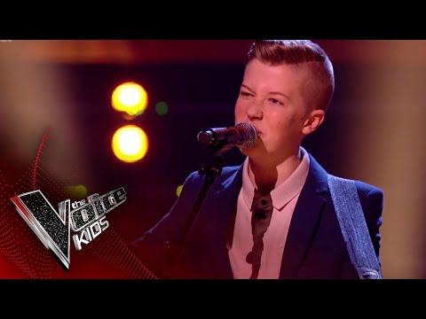 Harry Performs 'Forever Young': The Semi Final | The Voice Kids UK 2018 Mp3