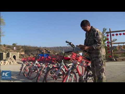 Bike-sharing spreads to China's countryside from cities