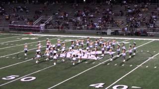 Tyler Junior College Apache Belles 2013 Jazz Dance Routine