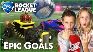 Epic GOALS in Rocket League