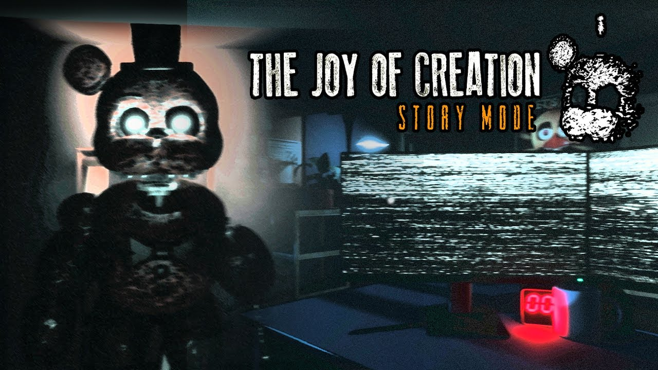 chica pooped outta the wall the joy of creation story mode living room and office